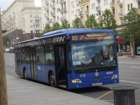 Москва. Mercedes-Benz O345 Conecto LF н084му