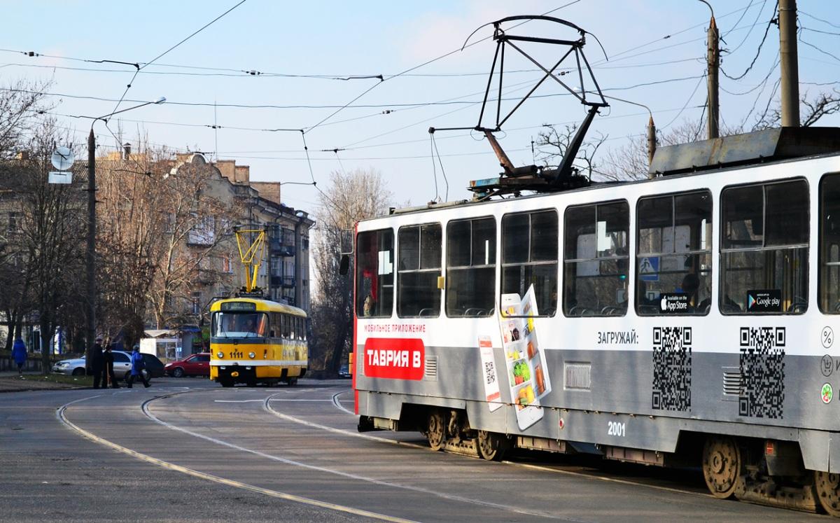 Николаев. Татра-Юг №2001, Tatra T3M.03 №1111