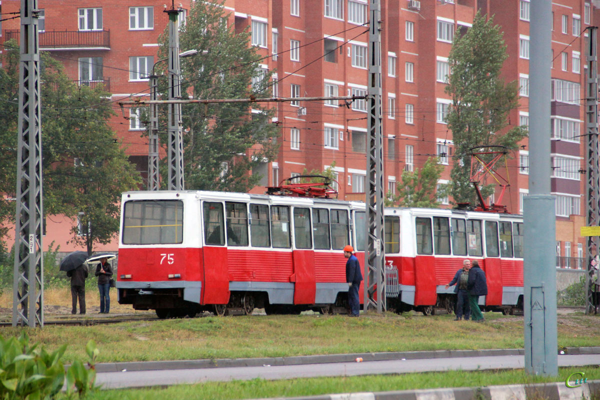 Старый Оскол. 71-605 (КТМ-5) №75, 71-605 (КТМ-5) №73