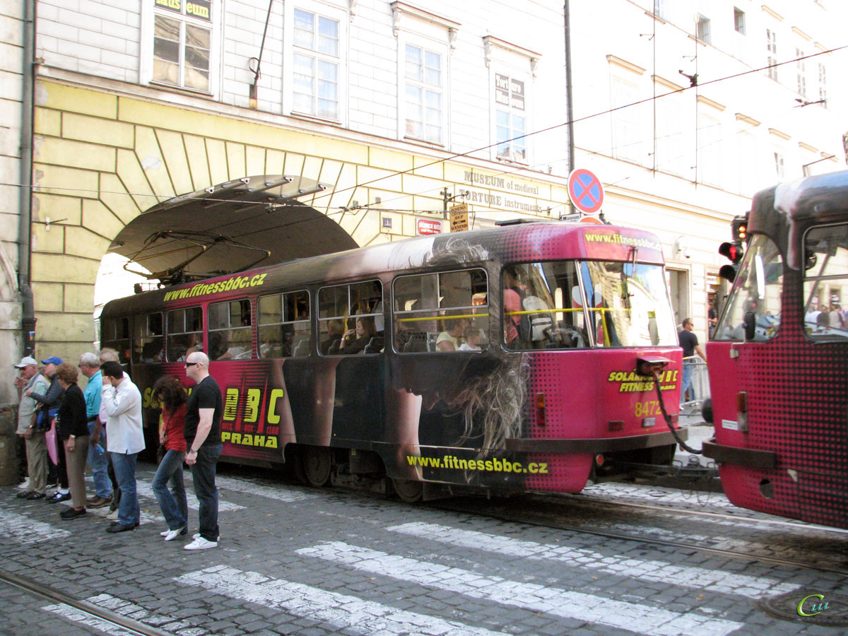 Прага. Tatra T3R.P №8472