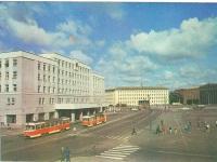 Калининград. Трамваи Tatra T4SU