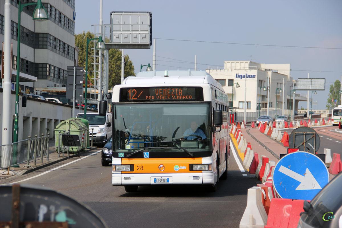 Венеция. Irisbus CityClass CNG CY 498ER