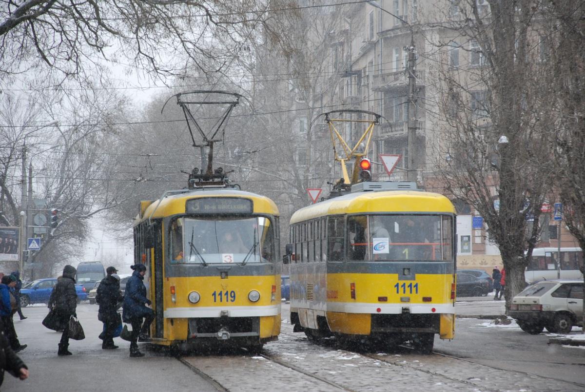 Николаев. Tatra T3M.03 №1111, Tatra T3M.03 №1119