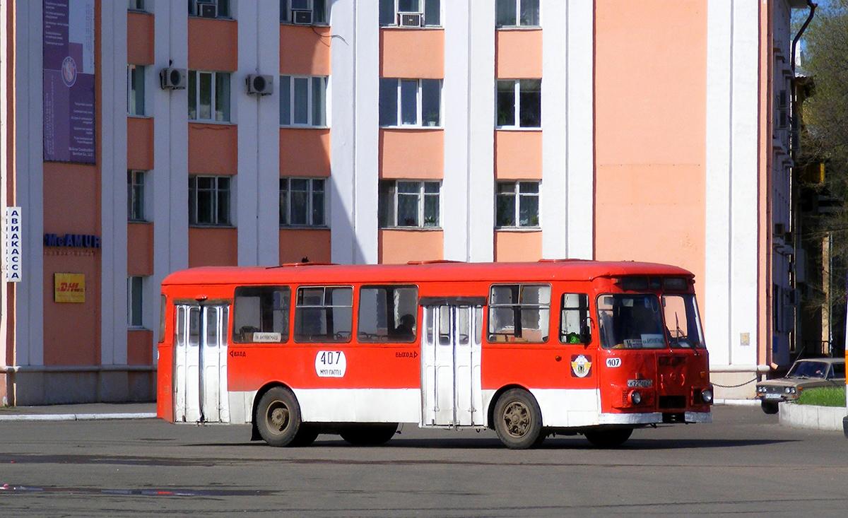 Комсомольск-на-Амуре. ЛиАЗ-677М к721ее