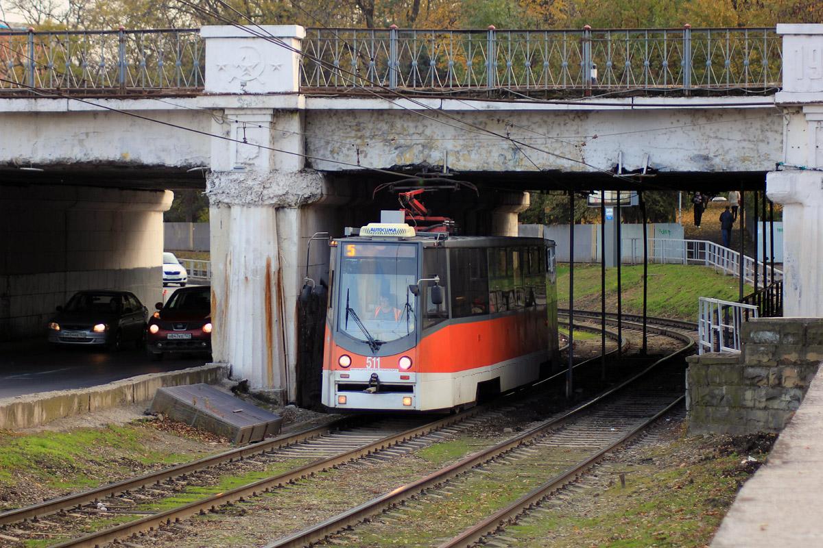 Краснодар. 71-605ТН (КТМ-5М3Р8) №511