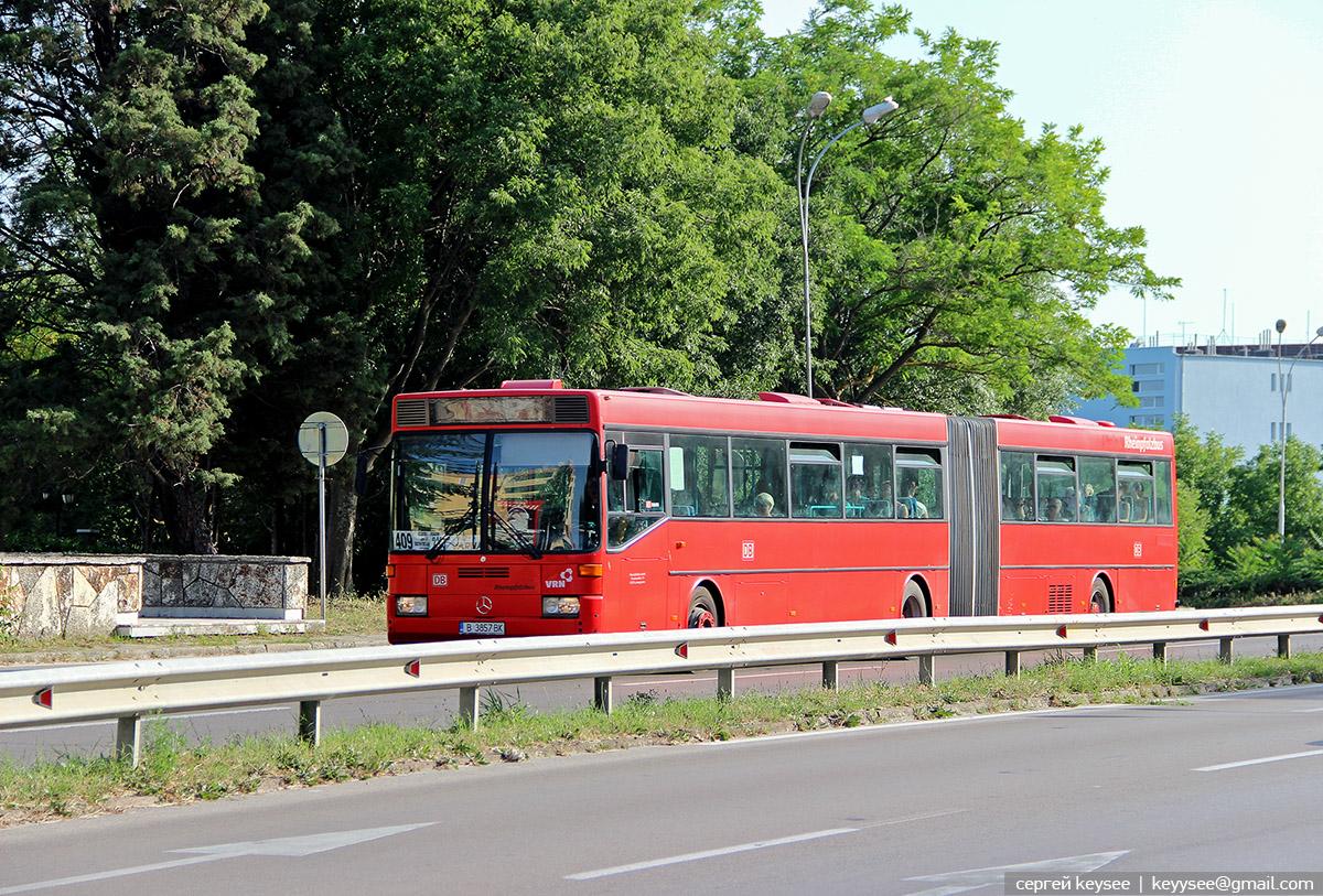 Варна. Mercedes-Benz O405G B 3857 BK