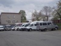 Курган. Пригородные маршрутные такси различных моделей