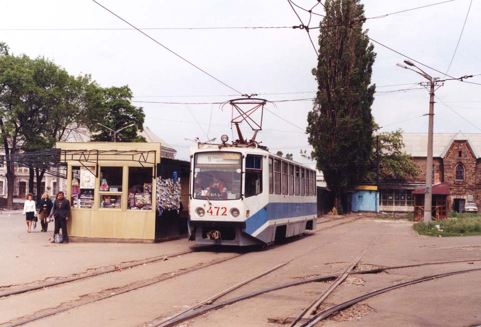 Кривой Рог. 71-608КМ (КТМ-8М) №472