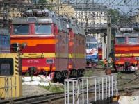 Санкт-Петербург. ЭП10-004, ЧС2т-959, ЧС2т-984