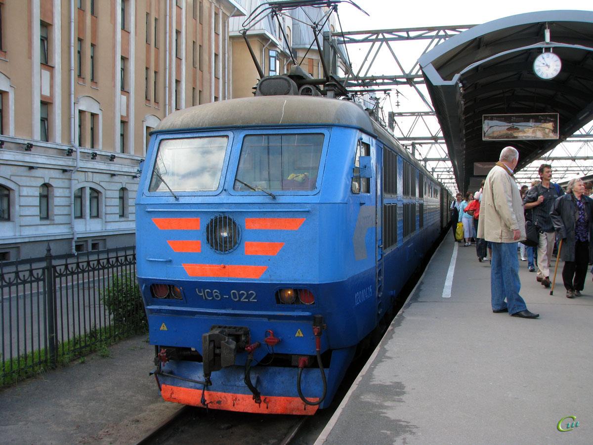 Санкт-Петербург. ЧС6-022