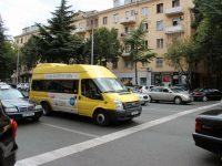 Тбилиси. Avestark (Ford Transit) TMC-477