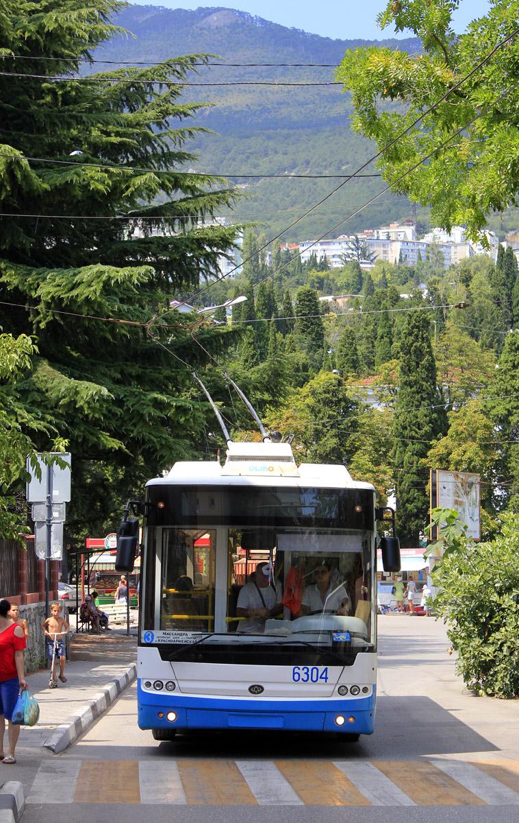 Ялта. Богдан Т60111 №6304