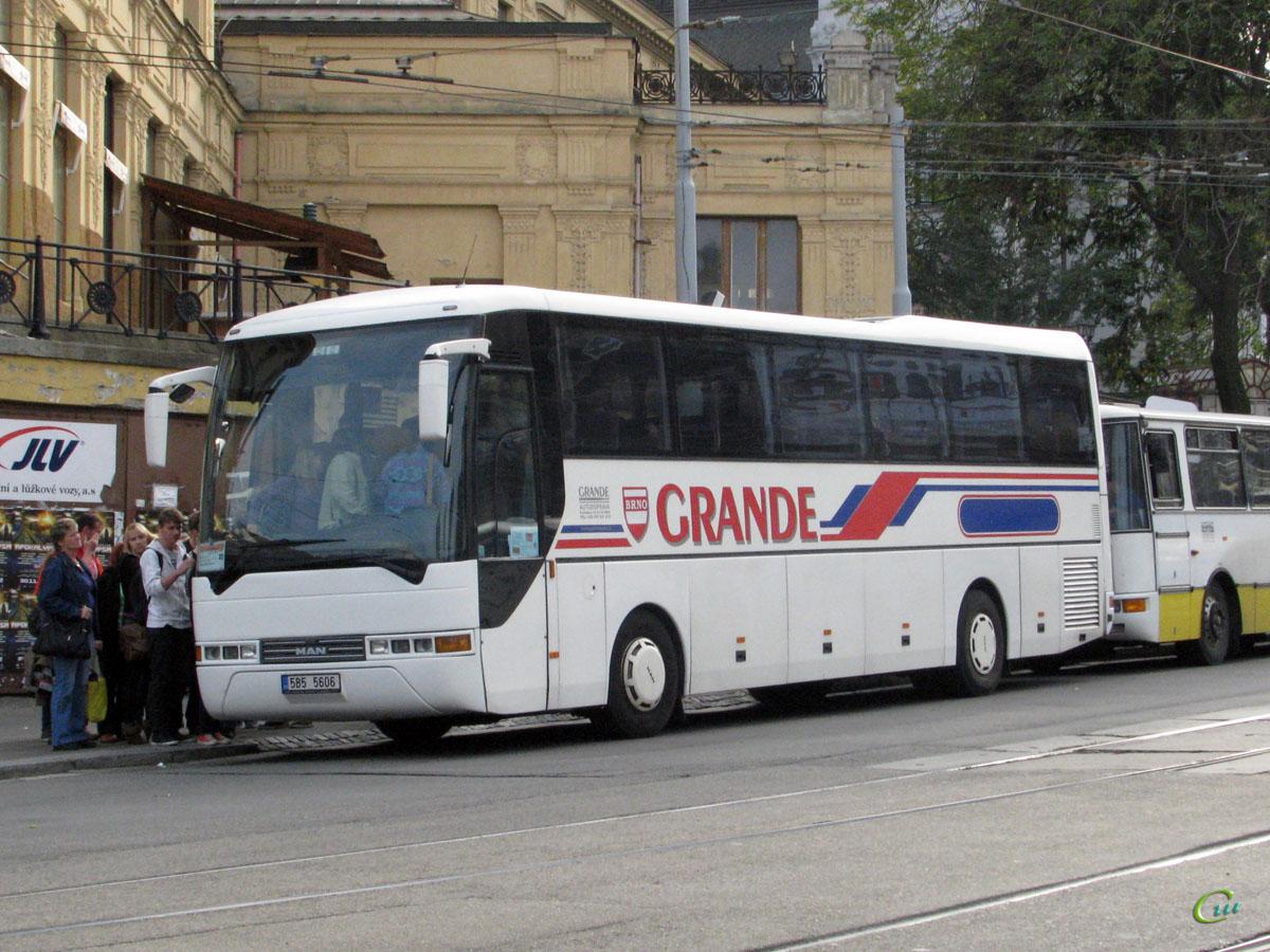 Брно. MAN A13 Lion's Coach 5B5 5606