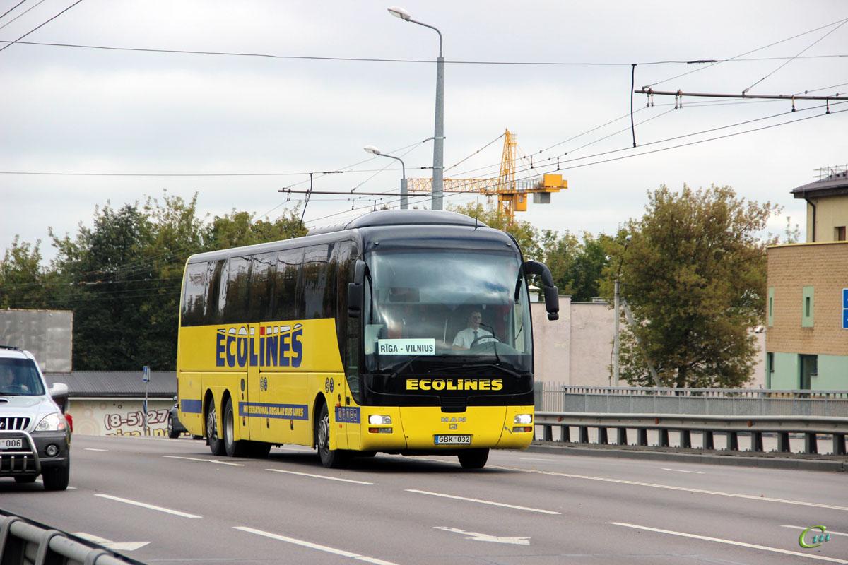 Вильнюс. MAN R08 Lion's Top Coach GBK 032