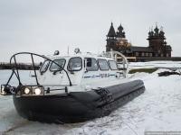 Петрозаводск. Судно на воздушной подушке ХИВУС-10 № 547 (РШП 09-24)