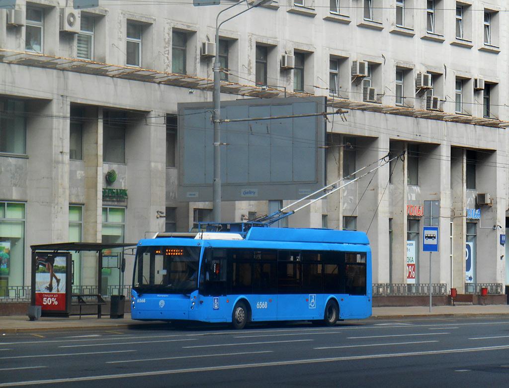 Москва. ТролЗа-5265.00 Мегаполис №6568