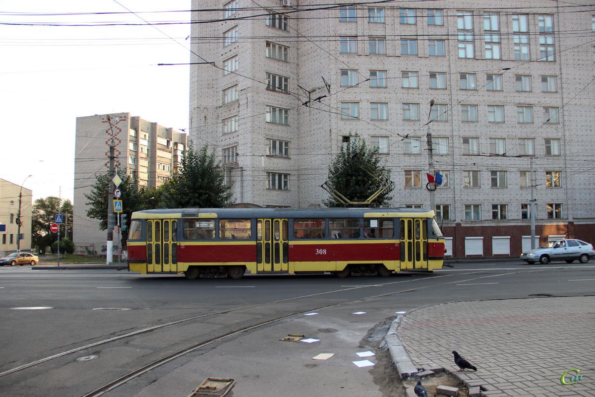 Курск. Tatra T3SU №308