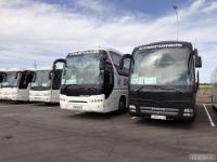 Ростов-на-Дону. Neoplan N2216/3SHDL Tourliner у008ма, MAN R08 Lion's Top Coach у009ма, JAC HK6120 м633рв