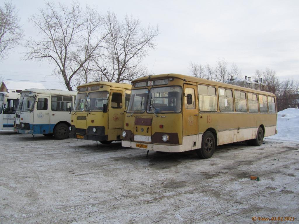 Шадринск. ЛиАЗ-677М ав282