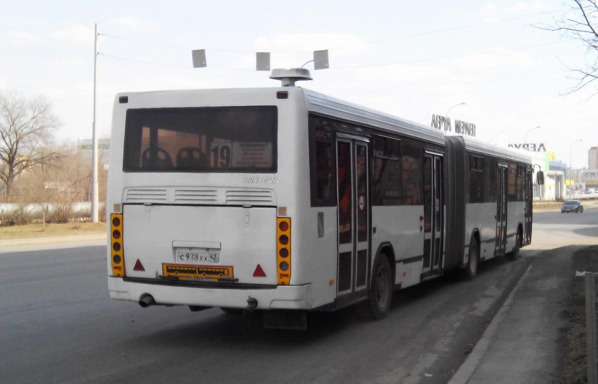 Кемерово. ЛиАЗ-6212.00 с938хх
