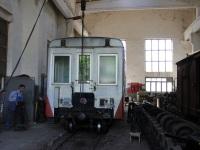 Боржоми. Пассажирский вагон в ремонтном цехе