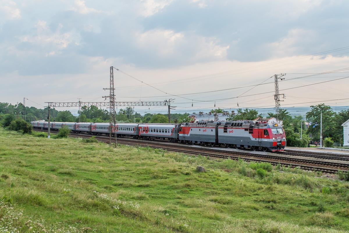 Белореченск. 2ЭС4К Дончак-104