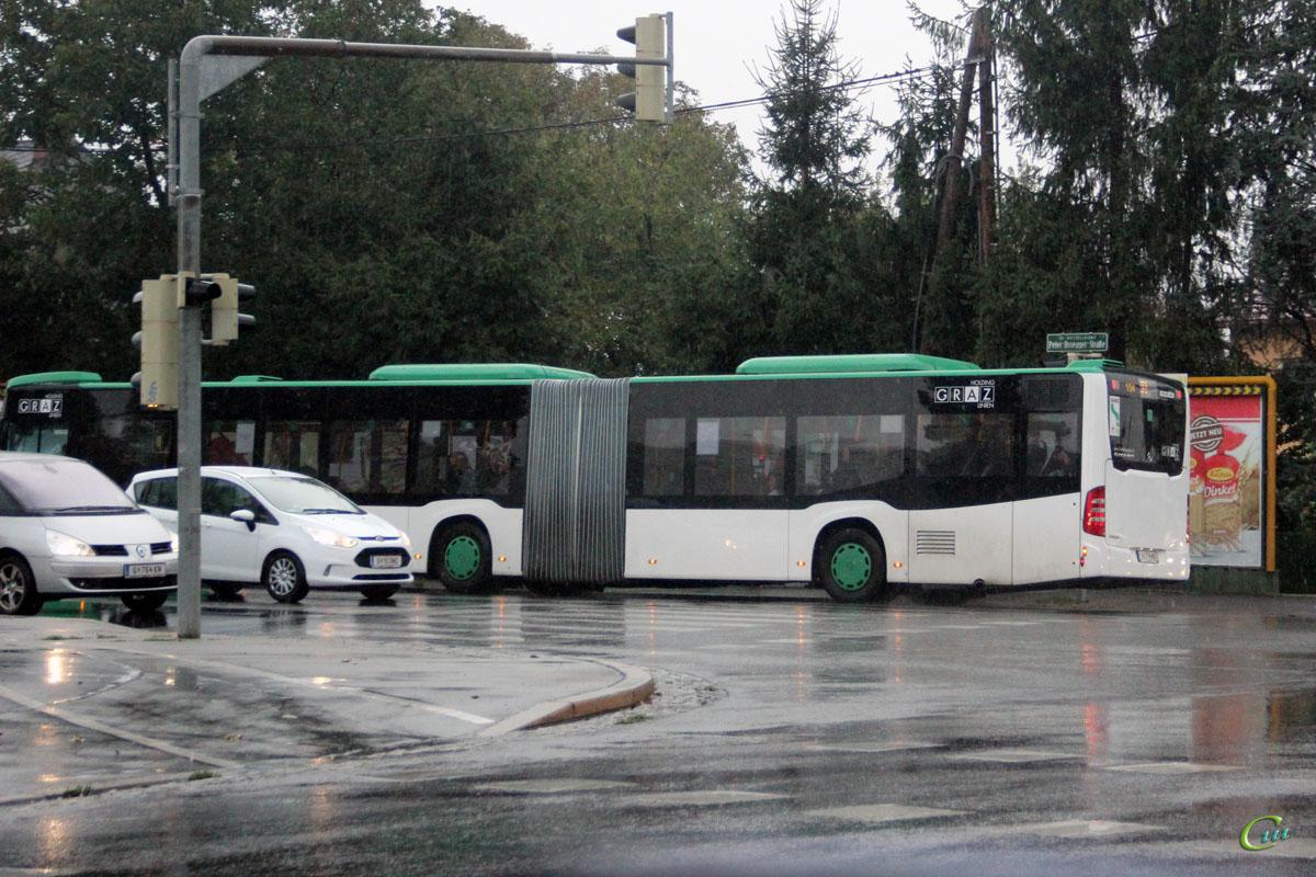 Грац. Mercedes-Benz O530 Citaro G G 714 MO