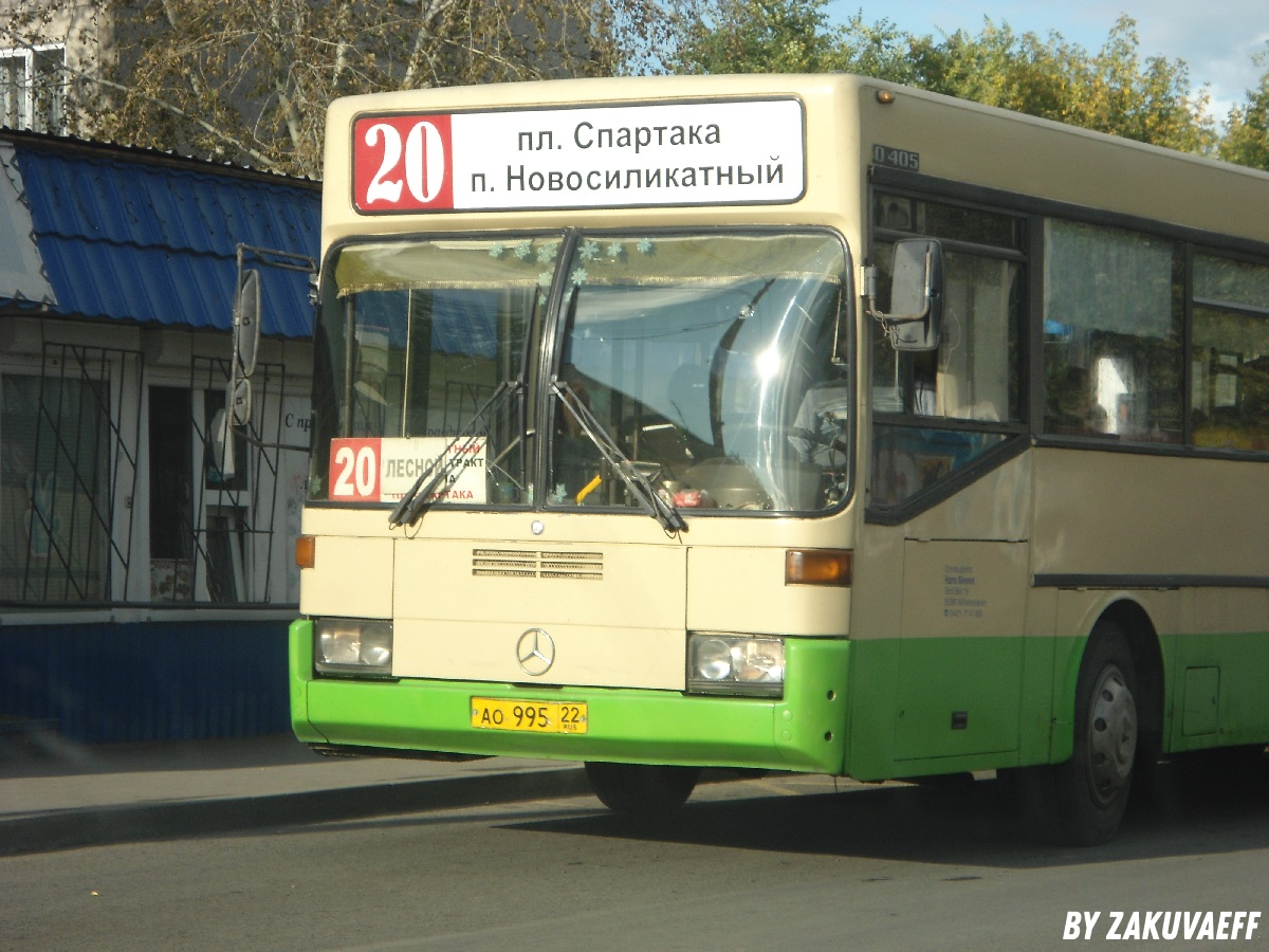 Барнаул. Mercedes-Benz O405 ао995
