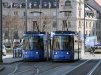 Мюнхен. Adtranz R2.2 №2151, AEG R2.2 №2126