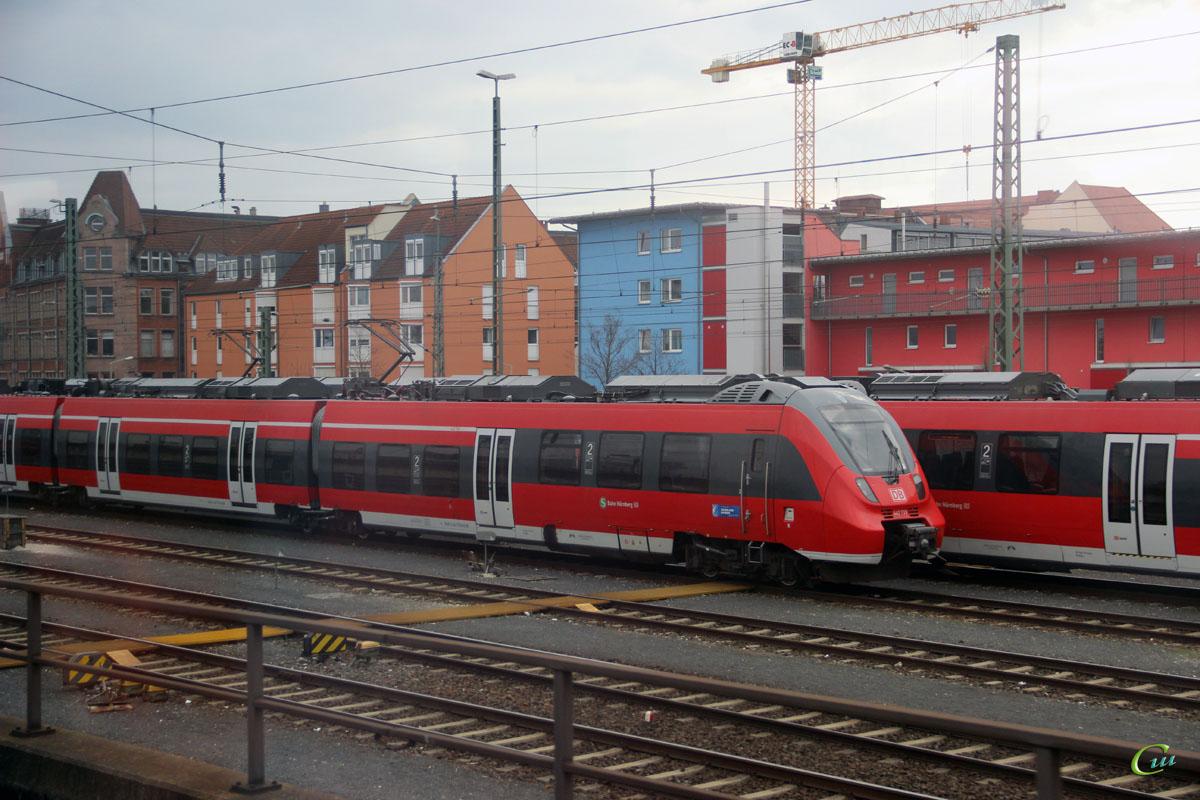 Нюрнберг. Bombardier Talent 2-442 739