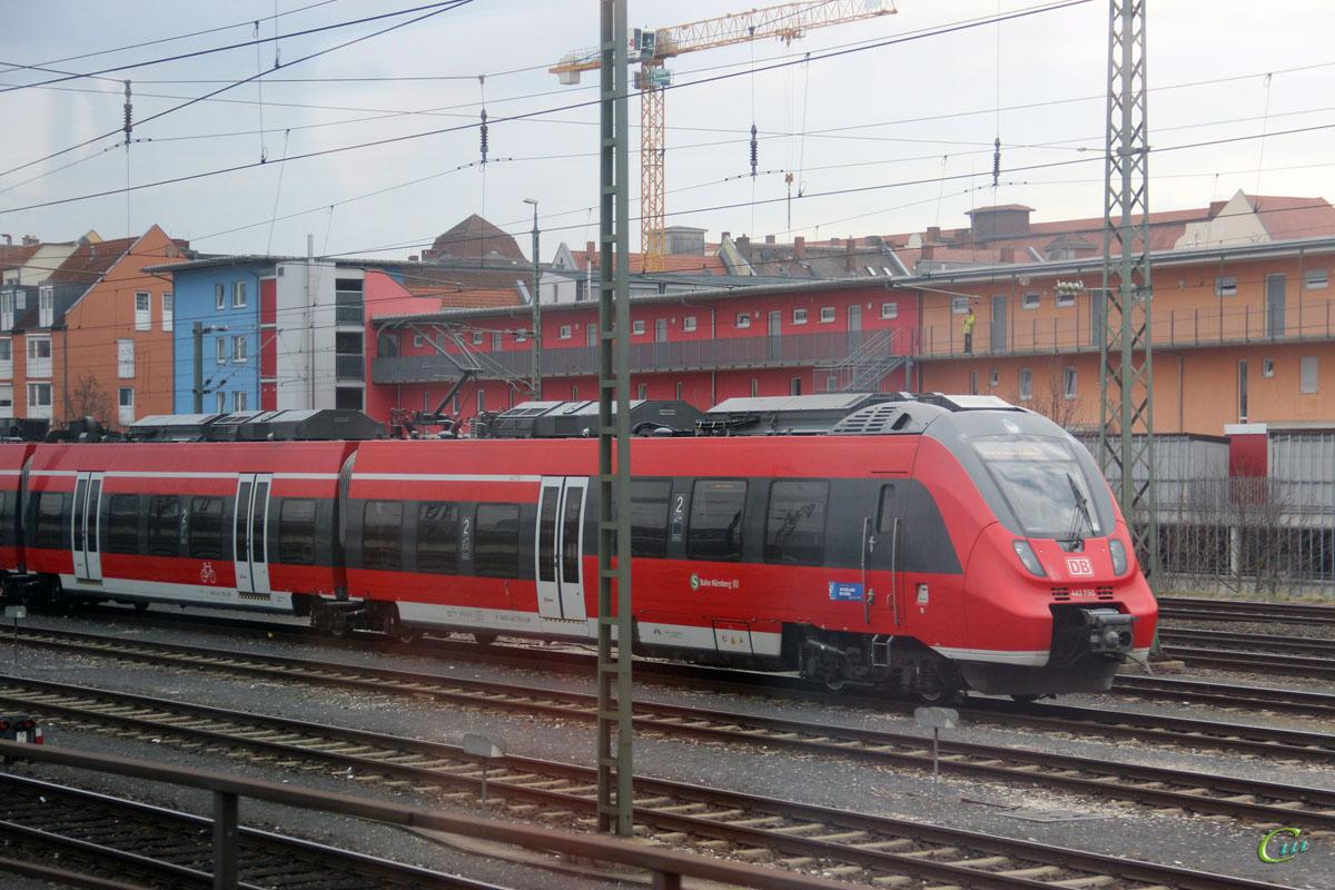Нюрнберг. Bombardier Talent 2 442 750
