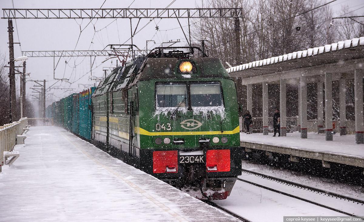 Санкт-Петербург. 2ЭС4К-043 Дончак
