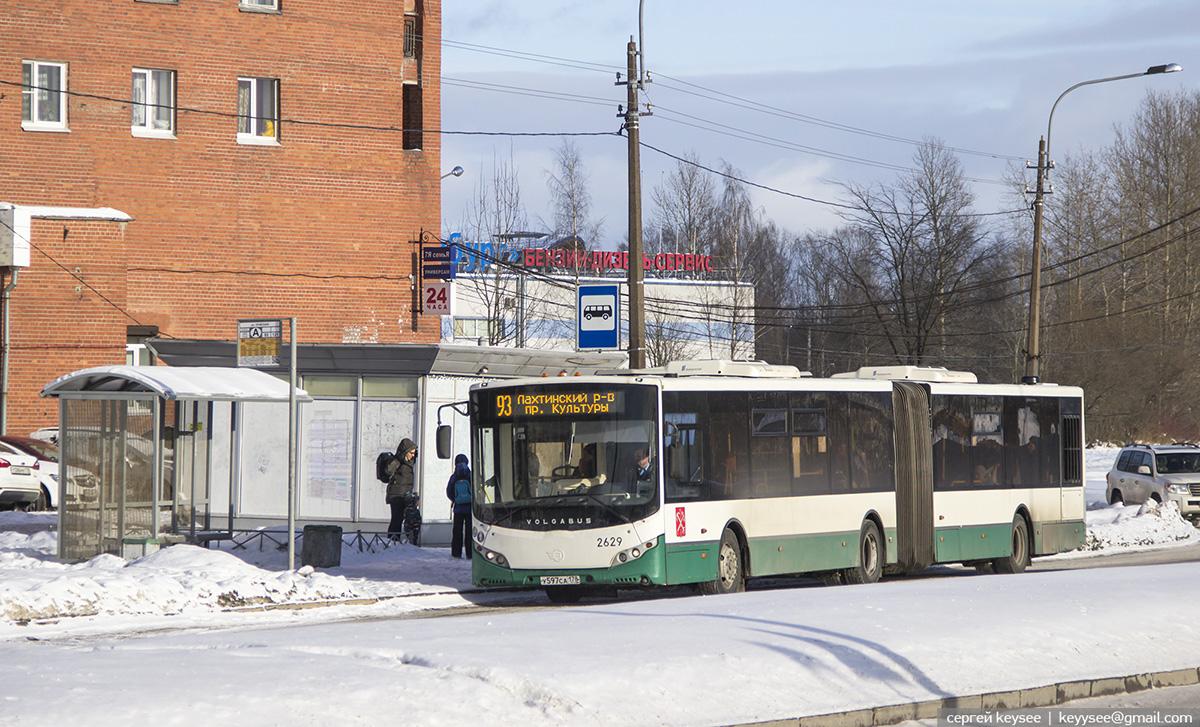 Санкт-Петербург. Volgabus-6271.00 у597са