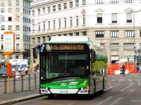 Милан. Solaris Urbino 12 Electric FN 360ZH