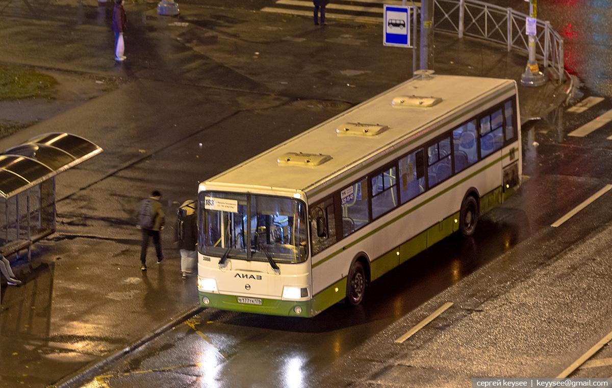 Санкт-Петербург. ЛиАЗ-5293.60 в177тк