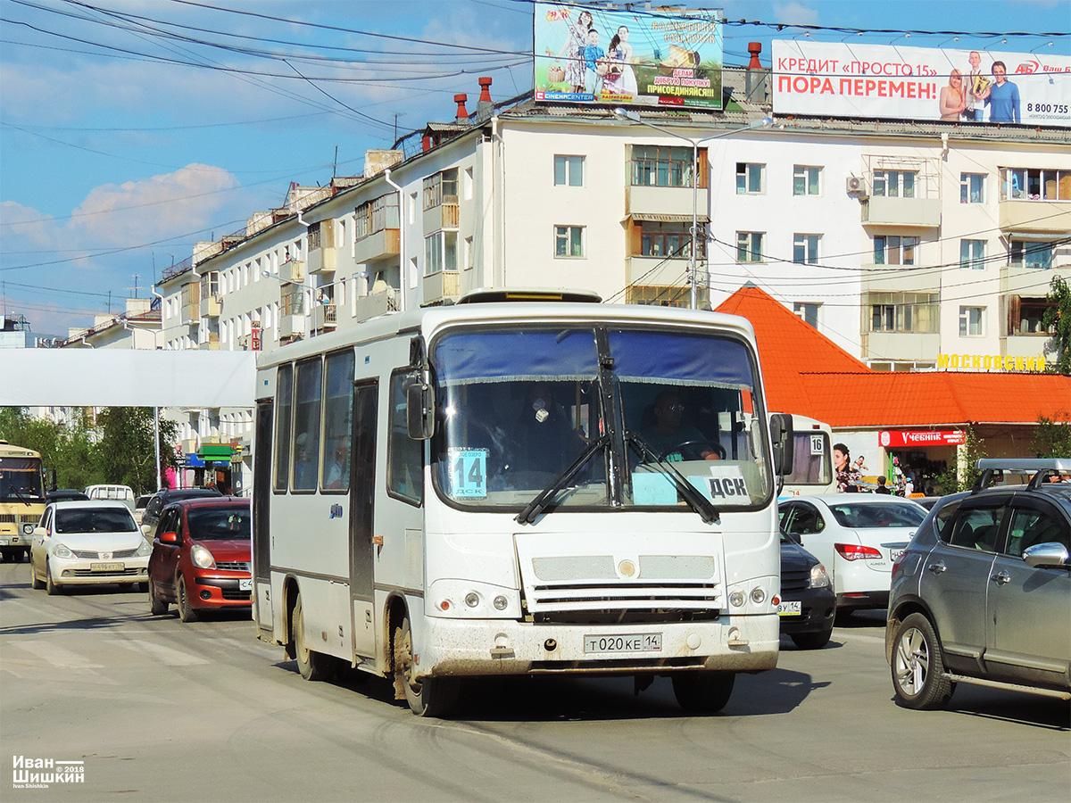 Якутск. ПАЗ-320302-08 т020ке
