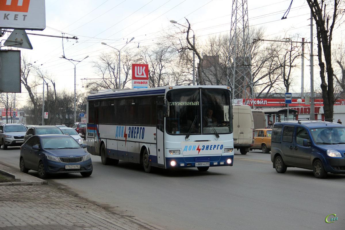 Ростов-на-Дону. ГолАЗ-5256.23-01 х800уе