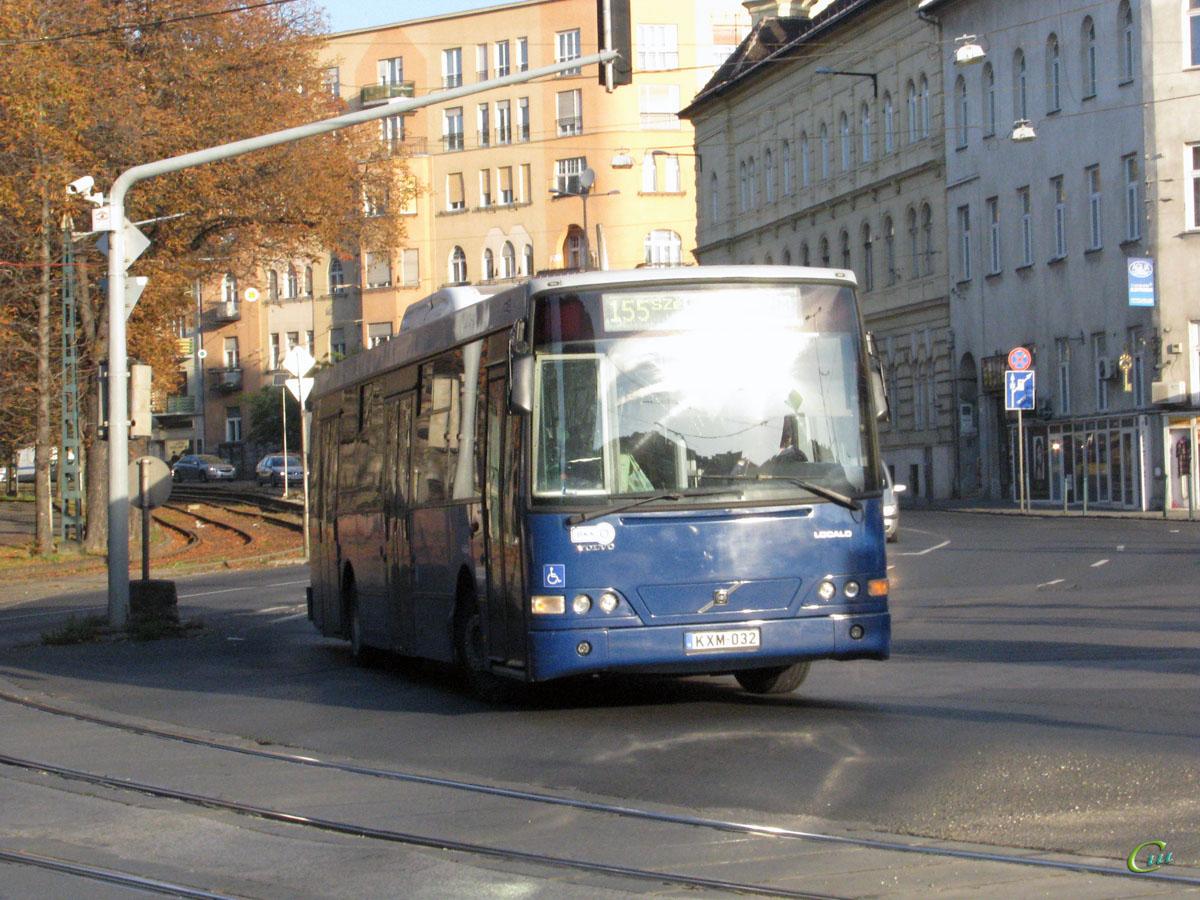 Будапешт. Alfabusz Localo (Volvo B7RLE) KXM-032