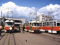 Харьков. Tatra T3SU №511, 71-605 (КТМ-5) №746, Tatra T3SU №512