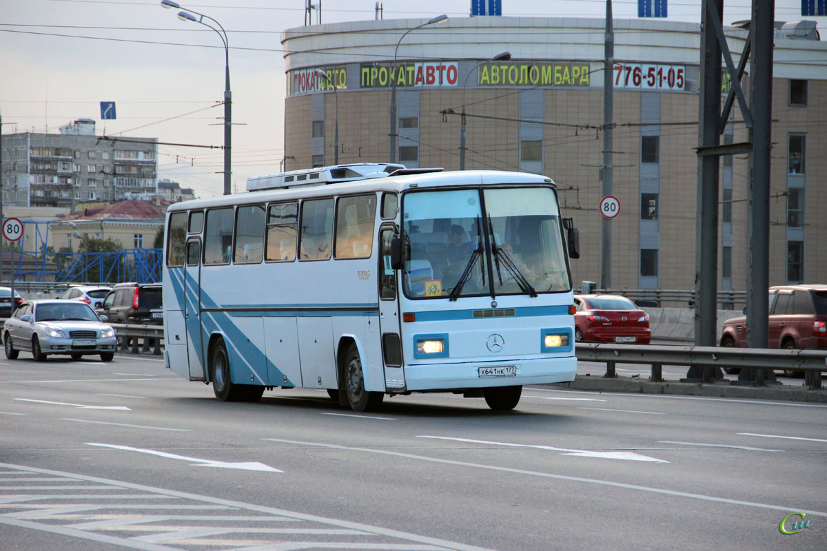 Москва. Mercedes-Benz O302S Otomarsan х641нк