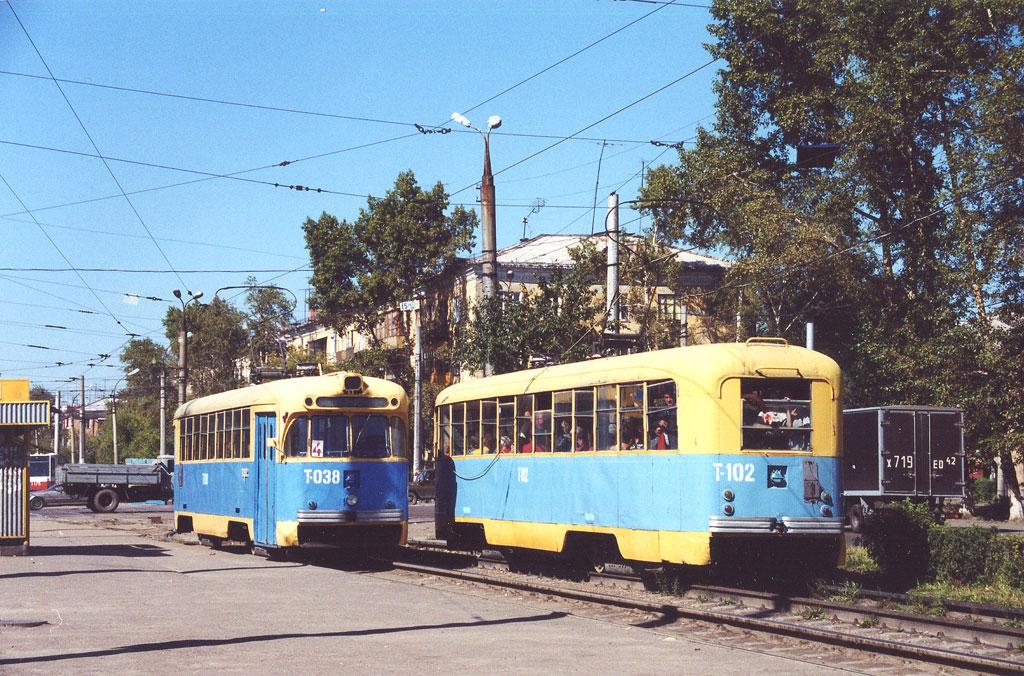 Ангарск. РВЗ-6М2 №102, РВЗ-6М2 №038