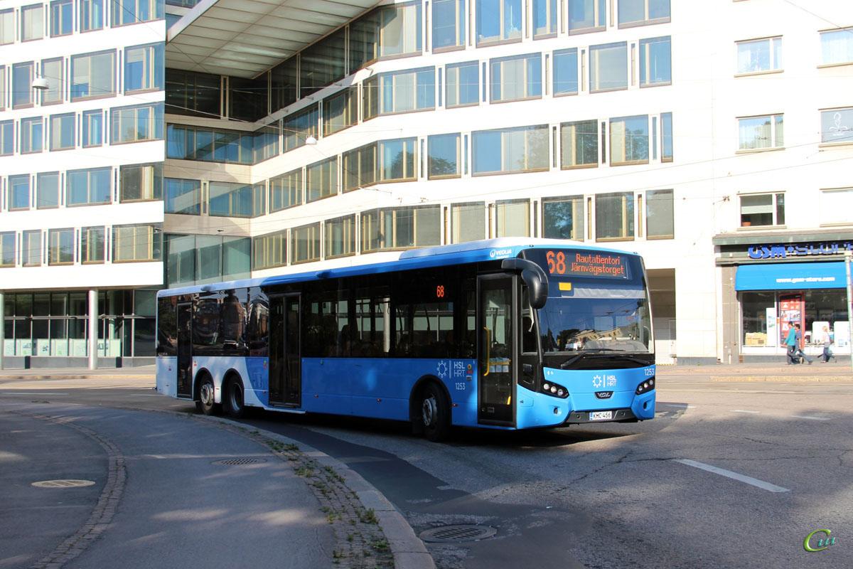 Хельсинки. VDL Citea XLE-145.310 KMC-456