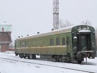 Рязань. Пассажирский вагон на станции Тумская