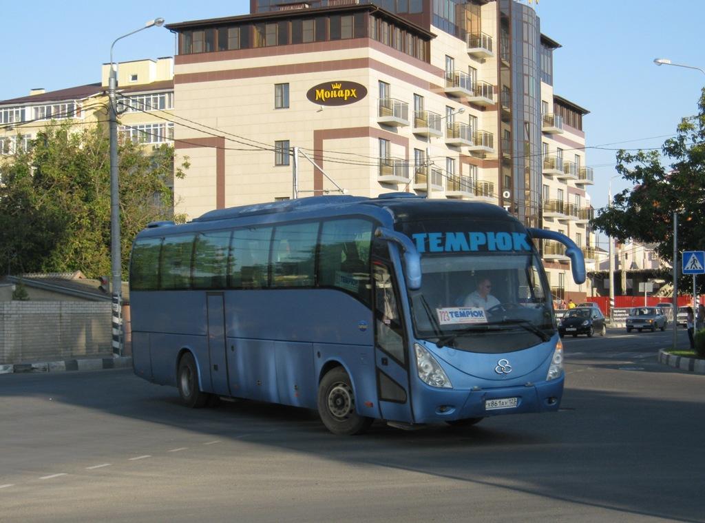 Анапа. Shuchi YTK6126 х861ау