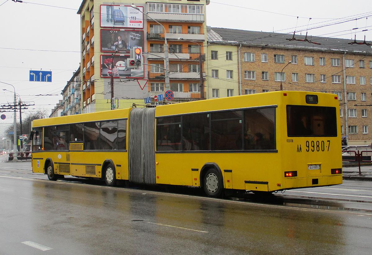 Минск. МАЗ-105.065 AA9980-7