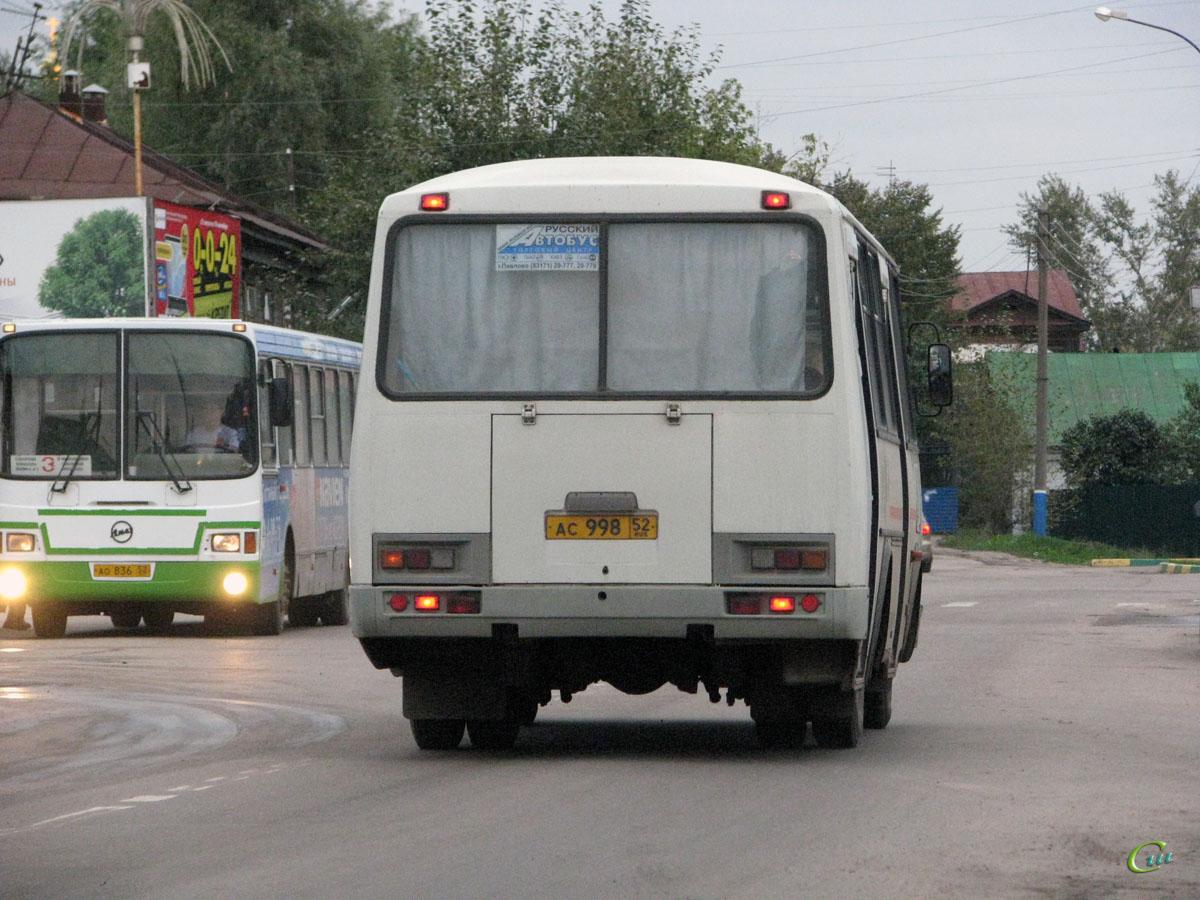 Арзамас. ПАЗ-32054 ас998