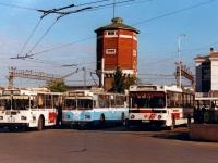 Курган. ЛиАЗ-52565 х945ат, ЗиУ-682 КВР МТрЗ №618, ЗиУ-682Г-012 (ЗиУ-682Г0А) №648