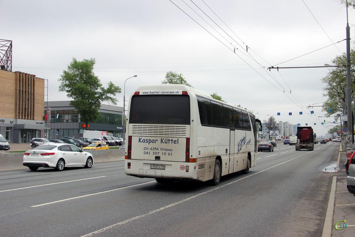 Москва. Mercedes-Benz O350 Tourismo у153тн