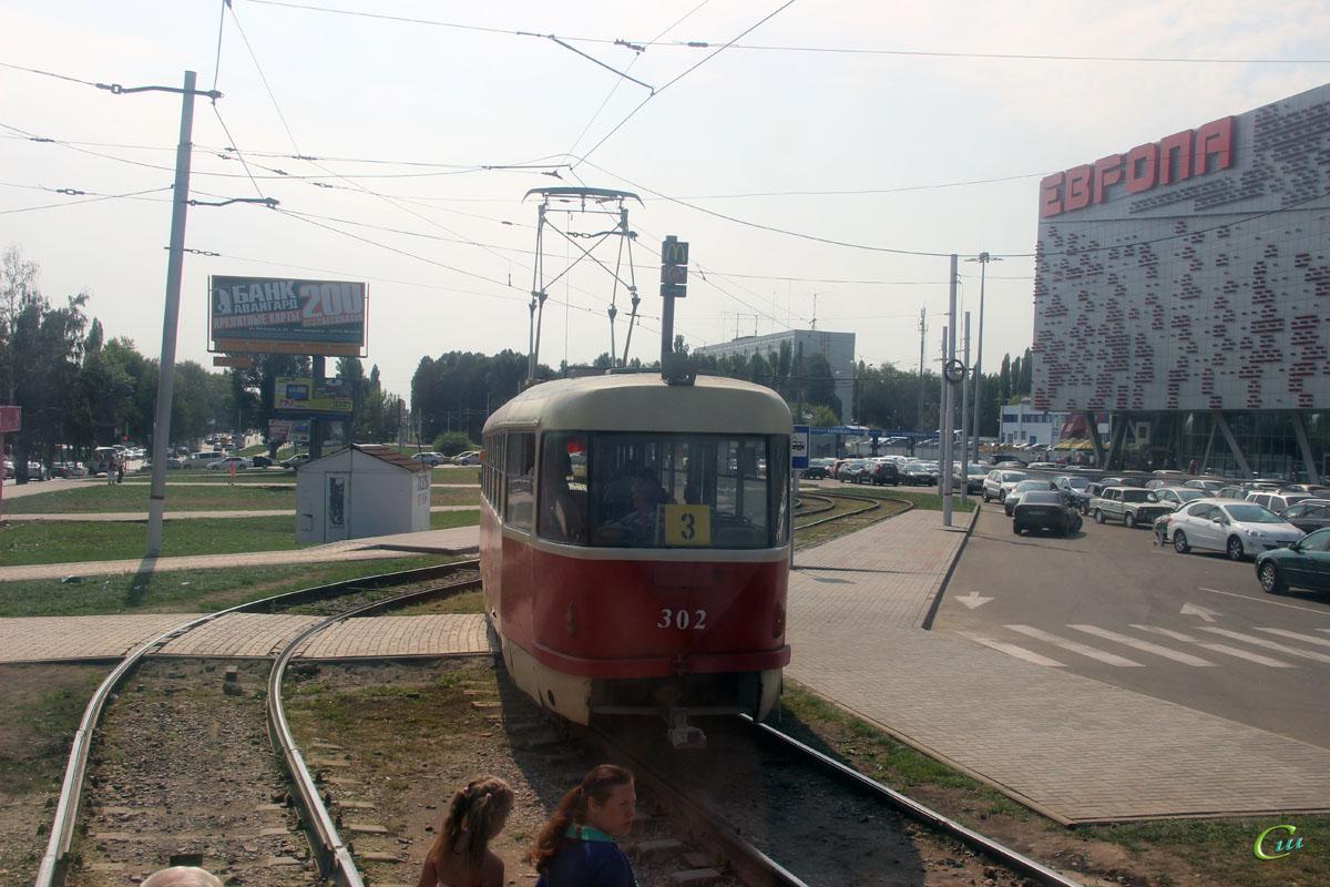 Курск. Tatra T3SU №302