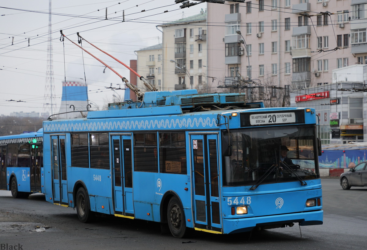 Москва. ТролЗа-5275.05 Оптима №5448